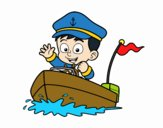 Boat and captain