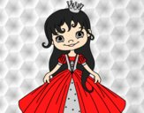 Coloring page A Little Princess painted byAnia