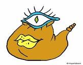 One-eyed monster