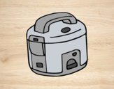 Coloring page Rice cooker painted bylorna