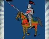 Mounted horseman