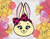Bunny girl face