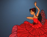 Flamenco woman