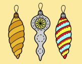 Coloring page Christmas decorations Christmas tree painted byLornaAnia