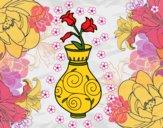 Bellflower in a vase