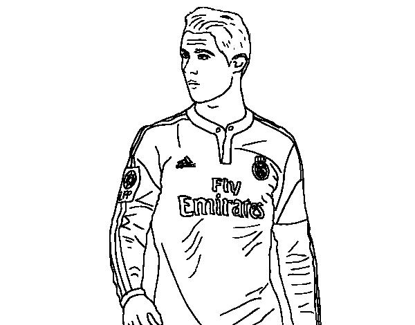 Cristiano Ronaldo coloring page - Coloringcrew.com
