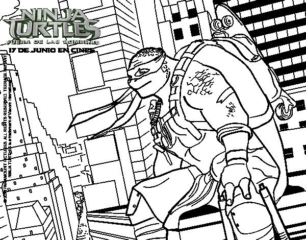 michelangelo nija turtles coloring page coloringcrew com