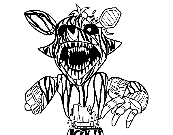 Five nights at freddy's coloring pages | Print and Color.com | 470x600