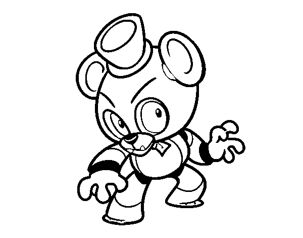 FNAF Coloring Super Fun Coloring - Coloring Pages | 470x600