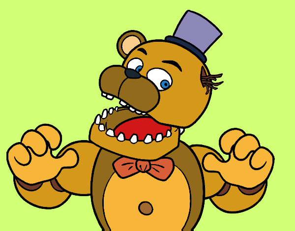 Five Nights At Freddy S Coloring Pages Coloringcrew Com
