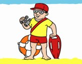 A lifeguard